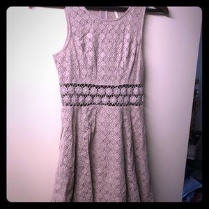 Free People daisy lace fit and flare dress